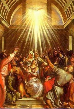 Com o Espírito Santo todos começaram a falar em outras línguas